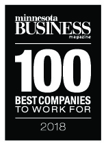 Minnesota Business, 100 best companies to work for, 2018 winner