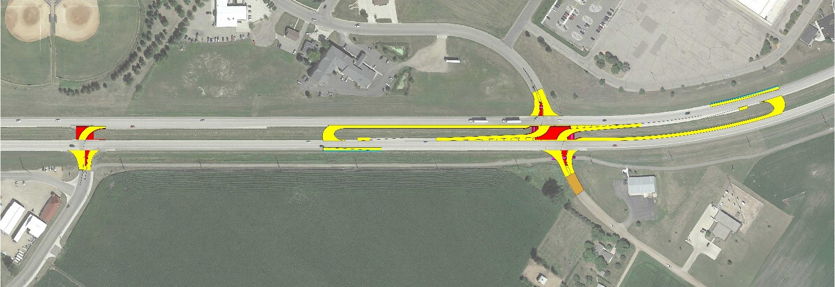 Isthmus Engineering | Trunk Highway 23 Restricted Crossing U